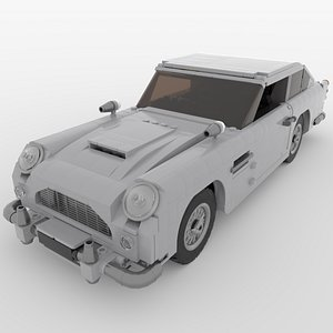 3D model Lego Aston Martin DB5 Sports Car