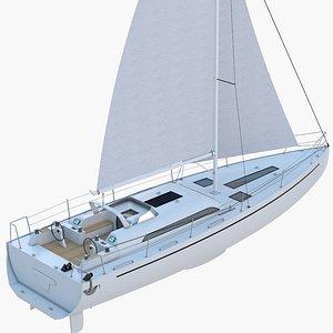 Sailing Yacht 3D model