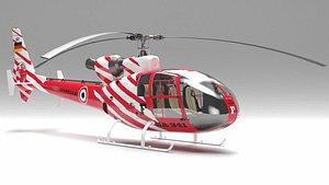 gazelle sa 341 helicopter model