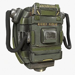 backpack canister case military model
