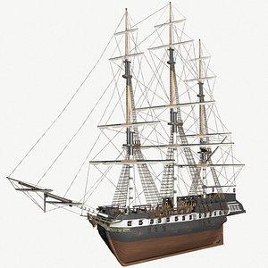 frigate ships model