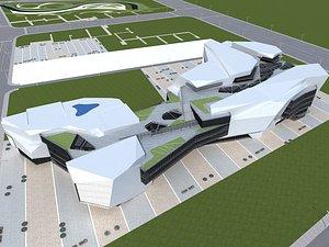 3D Plaza Complex 2