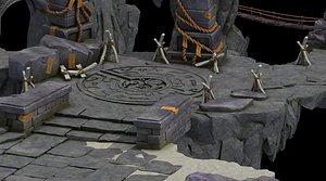 3D rocks 101 model