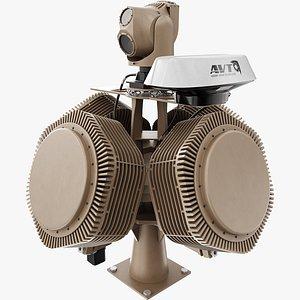 x-madis anti drone 3D model