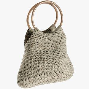 3D realistic women s bag