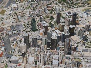 3D dallas city