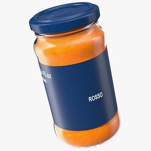 3D Rosso Pasta Sauce Pot