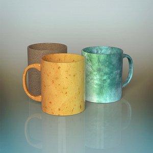 3D coffee mugs
