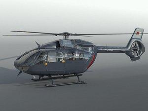 Airbus H-145 3D model