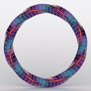 3D model complex ring