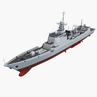 Chinese Navy Type 052C Destroyer