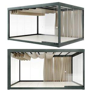 Eivissa Light  and Proof pavilion Ethimo 3D model