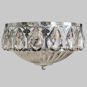 3D model sconce chandelier lamp