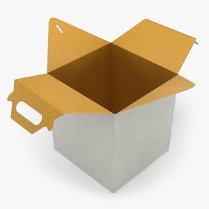 Food Box Open 03 model