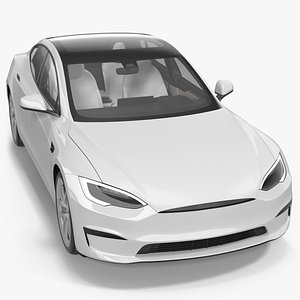 3D Electric Liftback Sedan