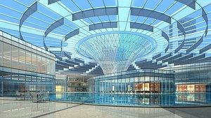 Shopping Mall 01 3D