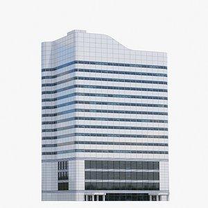 First Canadian Place V12 lowpoly 3D model