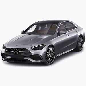 Mercedes-Benz C-class AMG-line 2021 3D model