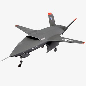 XQ-58 Valkyrie Kratos Military Drone 3D model