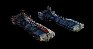 star wars pelta 3D