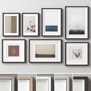 Picture Frames Set-234 3D