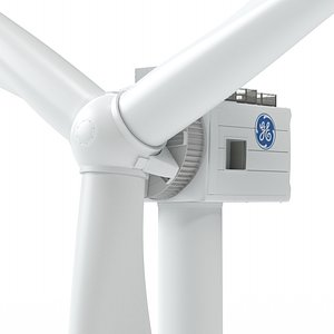 3D Wind Turbine GE Haliade-X 13MW