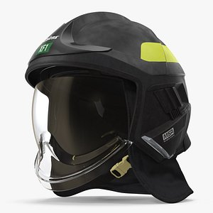 3D cairns xf1 helmet black