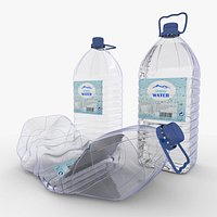 Plastic Water Bottle Carboy