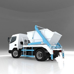 Double Arm Hydraulic Lifter Truck 3D model