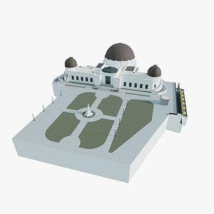 griffith observatory 3D model