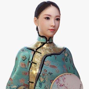 3D queen qing dynasty