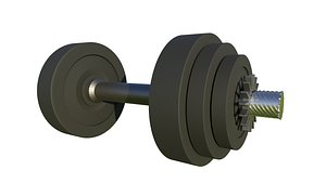 weightlifting dumbbell sport model