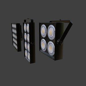 blinding matrix 5x5 3D