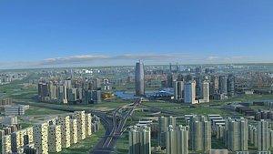 city architecture cityscape 3D model