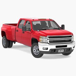 3D dually pickup truck