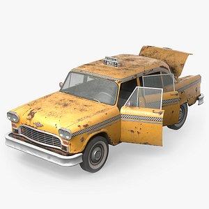 3D Old Classic Sedan
