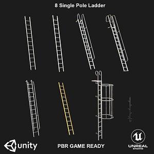 3D ladder ready pbr