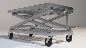 Scissor Lift Table 3D model