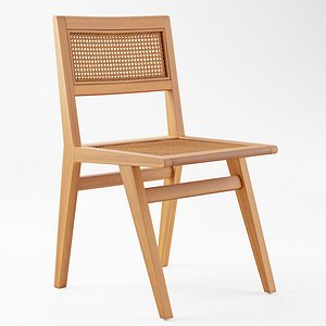 3D Marte Dining Chair model