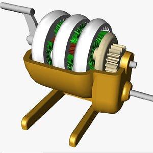 Planetary Gears 3D model
