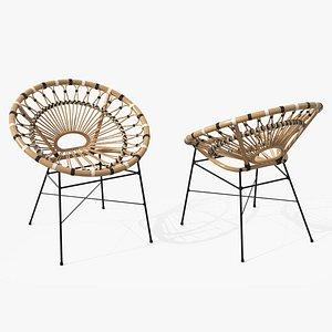 Daisy Lounge Chair model