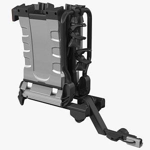 Thule EasyFold XT2 Bike Racks Folded 3D model