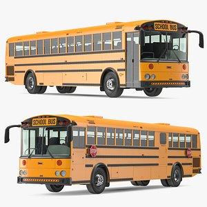 3D Thomas Saf T Liner School Bus
