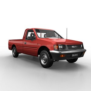 3D isuzu pickup