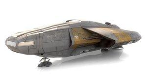 3D spacecraft transport