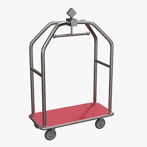 3D Hotel cart 02