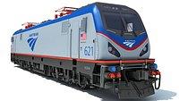 Amtrak Electric Locomotive