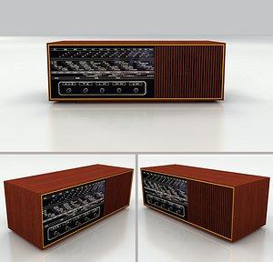 3D radio retro