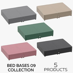 3D Bed Bases 09 Collection