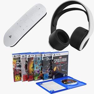 3D Three PS5 Accessories 2 model